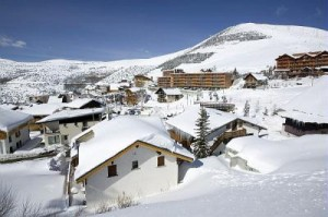Alpe d'Huez Skigebiet