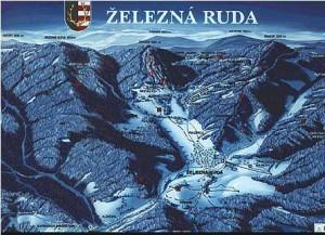 Boehmerwald Tschechien Skigebiet