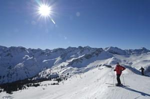 Allgaeu Skigebiet