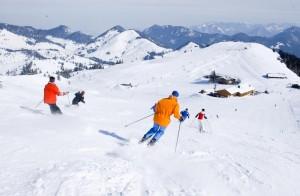 Skiurlaubsgebiet Bayern