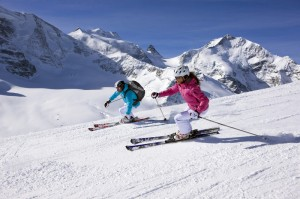 Skifahren in Engadin St. Moritz