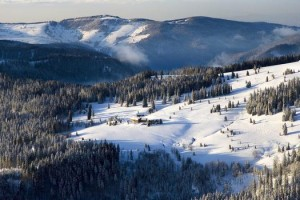 Winter am Feldberg, Schwarzwald