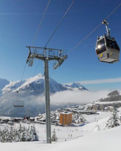 Orcières Merlette Skigebiet