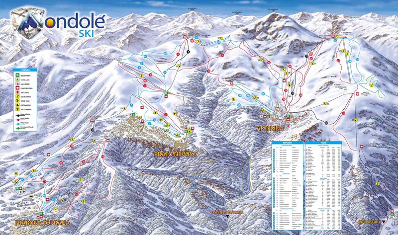 Prato Nevoso-Artesina Skigebiet