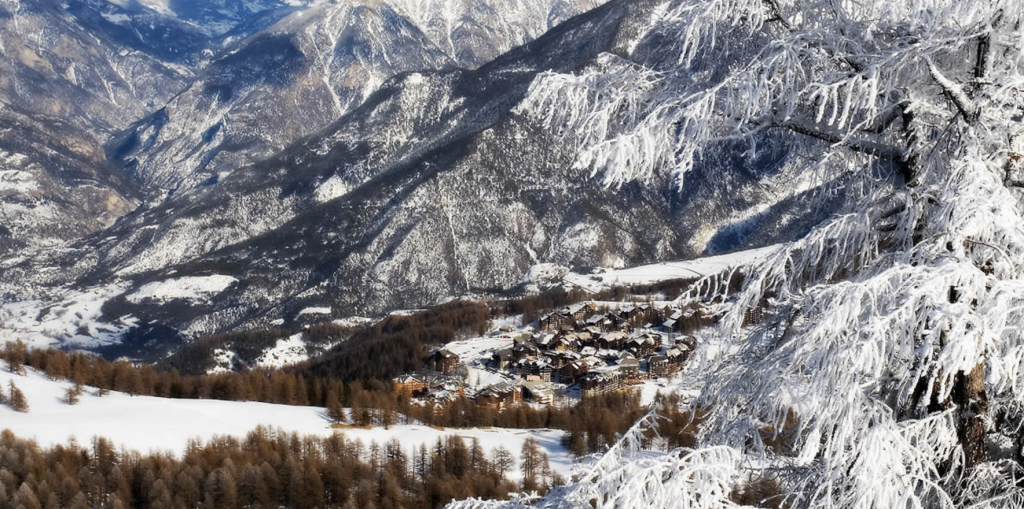 Risoul-Vars Skigebiet