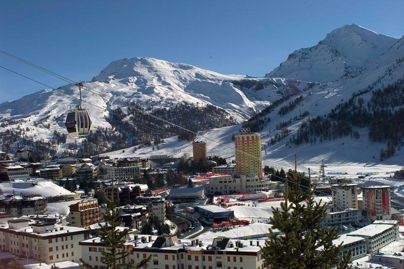 Sestriere Skigebiet