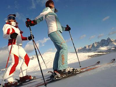 Val di Fiemme Skigebiet