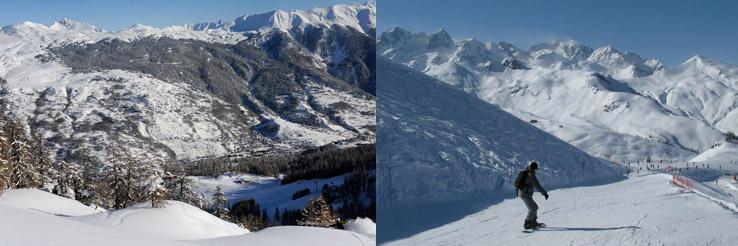Serre-Chevalier Skigebiet
